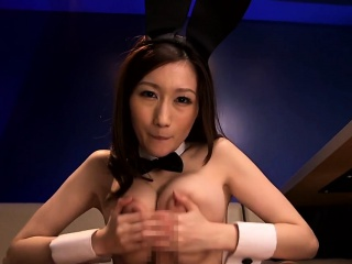 Japanese cosplay  the man tot titfucking pov