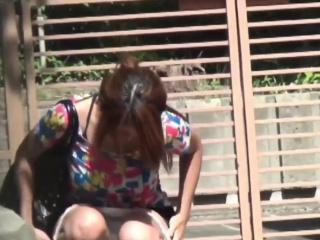 Unnatural japanese urinating