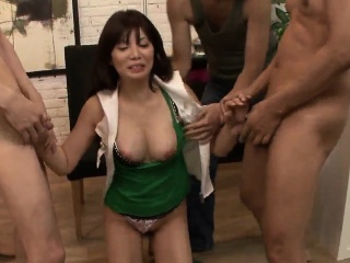 Karen Natsuhara loves a broad in the beam load of shit jellied the brush