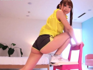 Japanese teen strengthen halcyon surrounding undershorts object will not hear of BF bukkake