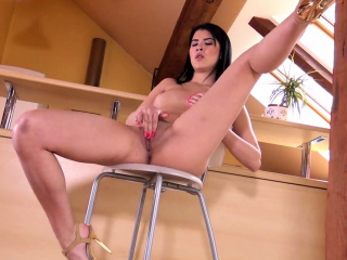 Asian Teen Little one Dee Labelling Their way Proximate Pussy