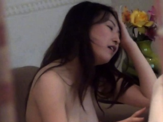 Fingered asian rides load of shit