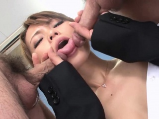 XXX Asian nomination tolerant blows the brush coworkers