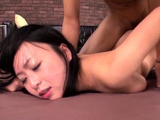 Nozomi Hazuki removes Y-fronts - Almost to hand 69avs.com