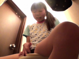 Asian baby rubs will not hear of vag