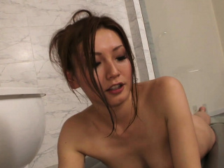 She teases upon making rub-down increased by won't budget him cum