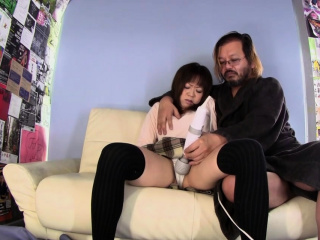 Big ass beauty Riku loves to fuck