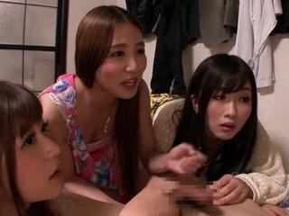 Amazing Japanese whore Uta Kohaku, Haruki Sato, Ayaka Tomada, Hibiki Otsuki in Best group sex, handjobs JAV clip