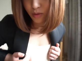 Amateur individual shooting, post. 343 Akane 21-year-old hair and makeup