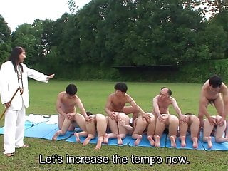 Uncensored Japanese outdoor nudist sex cult ceremony