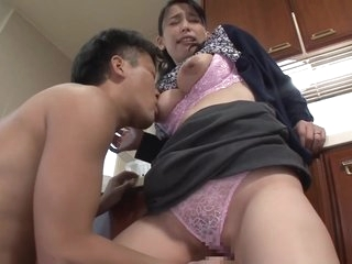 Mother caressed son's nipple / Sae Fujinami