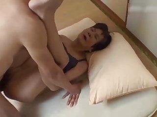 Skinny Japanese Granny fucked