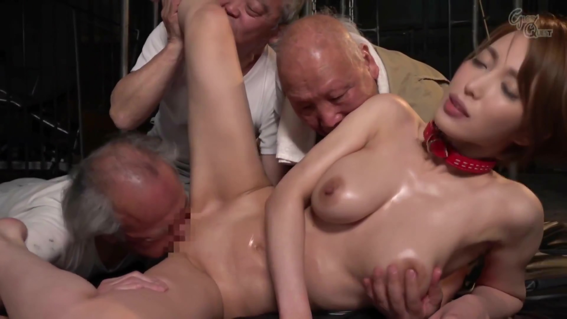 [lt19] Gvg-713 Big Tits Widow Gangbanged By Old Man And Become Sexual Slave Kimishima Mio