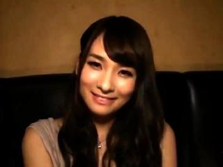 Blonde Japanese amateur get fuck on casting
