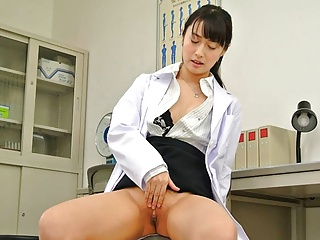 Japanese nurse Tomomi Motozawa is horny, uncensored