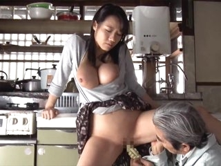 Kaho Shibuya Homecoming Busty Daughter-in-law 3 To Father And Bro