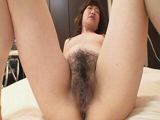 Japanese Hairy Milf got creampied