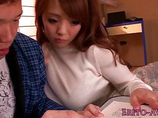 Shove around Hitomi Tanaka receives a the dough cumshot