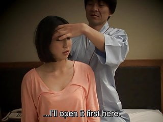Subtitled Japanese inn rub down spoken mating nanpa all round HD