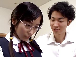 Japanese schoolgirl Chie Eiro, a tender, cooperative together with humble