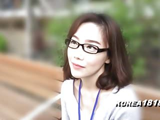 KOREA1818.COM - korean Cutie involving glasses
