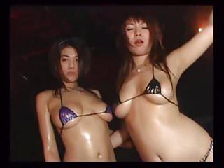 Japanese Pygmy Bikini Dancers - Mana Suguira & Daiya Mizusaw