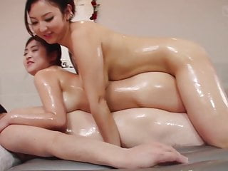 JAV lustful soapland FFM trio with respect to rimjob Subtitles