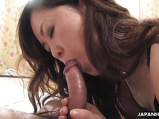 Slutty Asian take hot undergarments riding get under one's chubby perforate